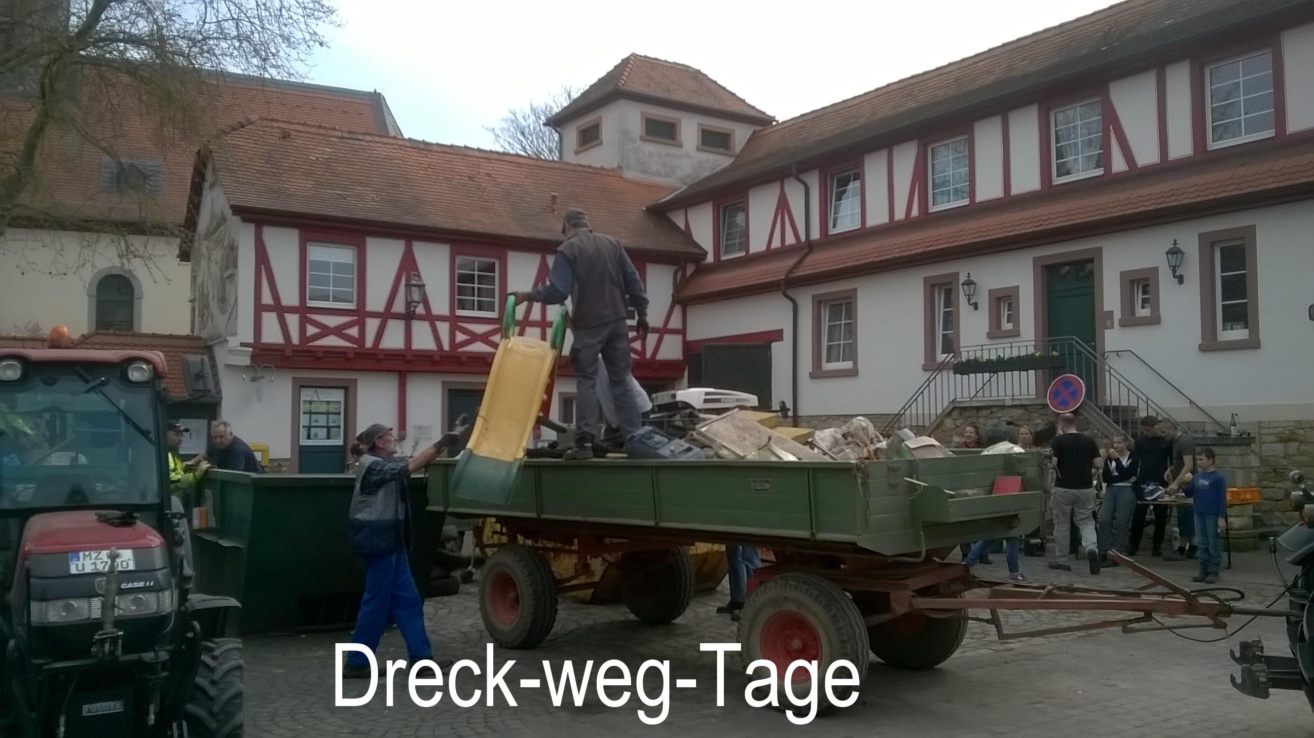 Dreck-weg-Tage